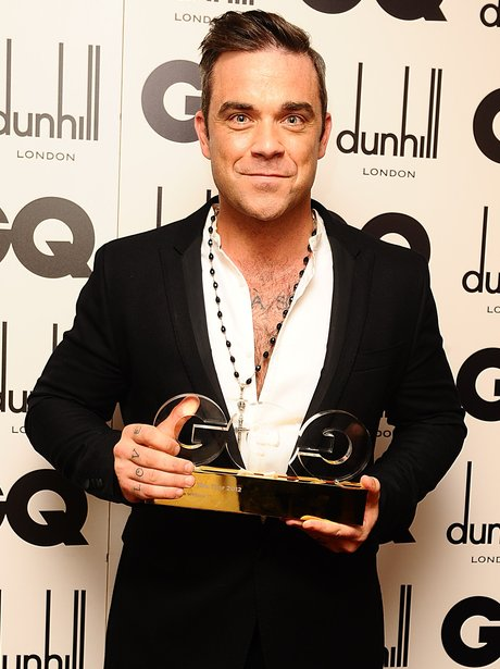 Robbie Williams GQ Awards 2012