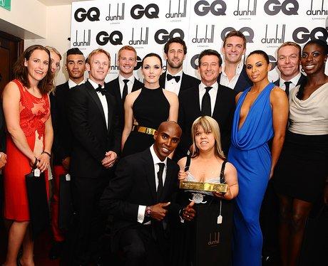 Team GB GQ Awards 2012
