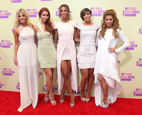 The Saturdays MTV VMAS'S 2012