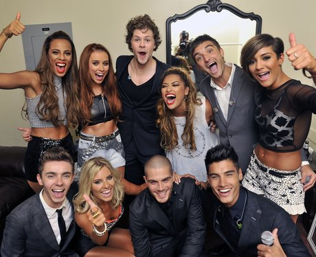 The Wanted and The Saturdays at the VMAs 2012.