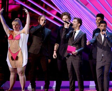 The Wanted MTV VMA 2012 awards