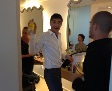 Tom Parker from The Wanted.