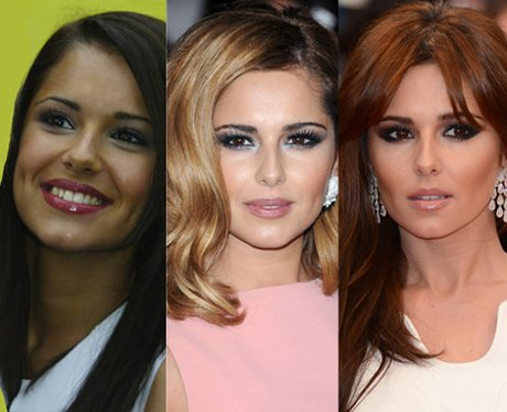 Cheryl dyes her hair red.