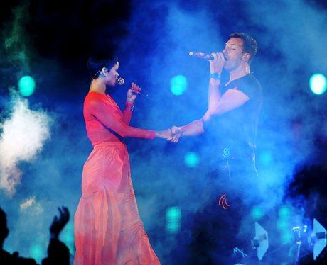 Coldplay and Rihanna Paraylmpics Closing Ceremony