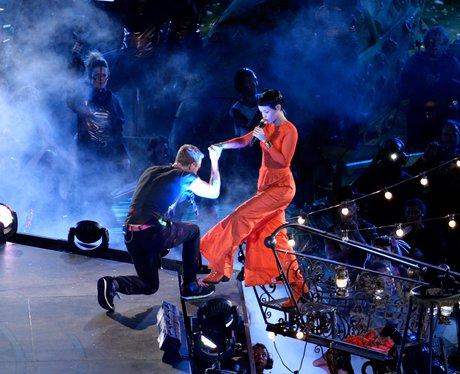 Coldplay and Rihanna Paraylmpics Closing Ceremony
