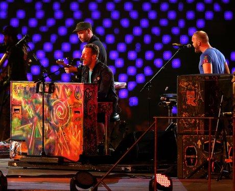 Coldplay paralympics closing ceremony