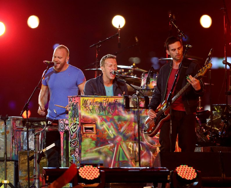 Coldplay live at the paralmpic closing ceremony 20