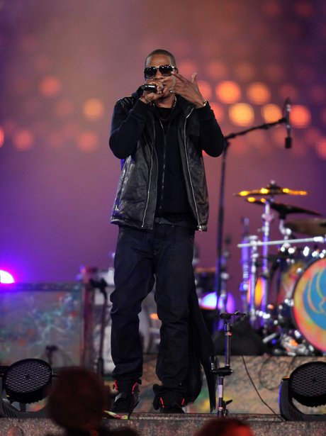 Jay-Z live at the paralympics closing ceremony 2012.