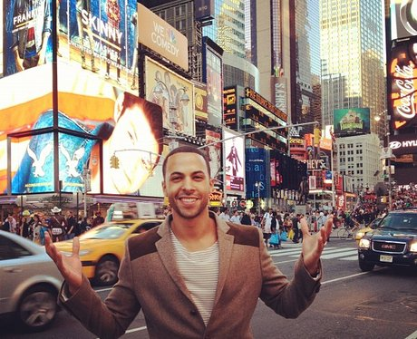 Marvin Humes in New York City