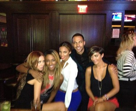 Marvin Humes with The Saturdays