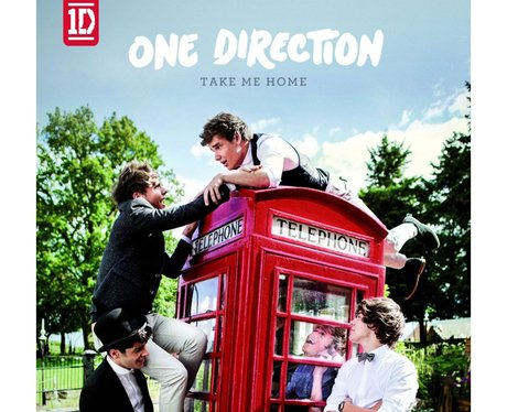 One Direction unveiled the artwork for second album 'Take ...