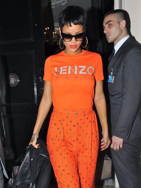 Rihanna at London Arts Club in Mayfair.