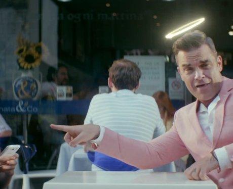 Robbie Williams Candy music video still