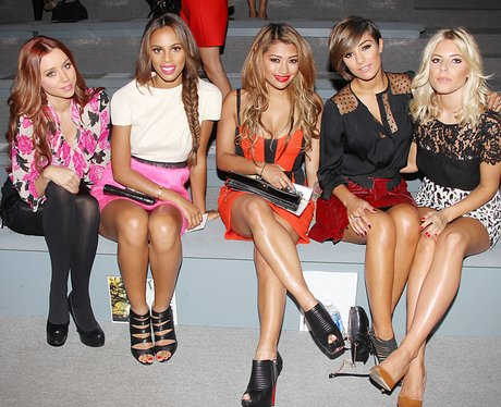 The Saturdays attend New York Fashion Week