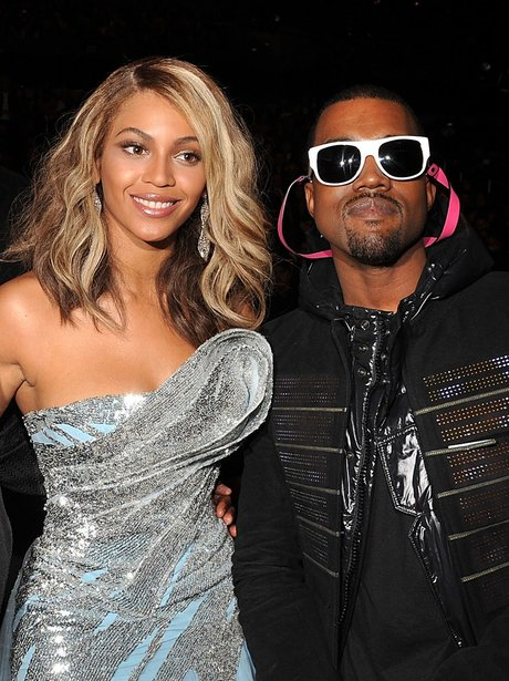 Beyonce and Kanye West Grammys 2008