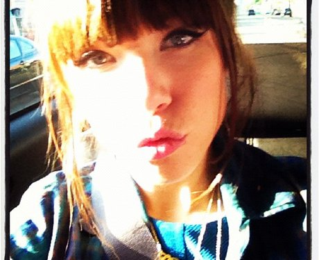 Carly Rae Jepsen pouting
