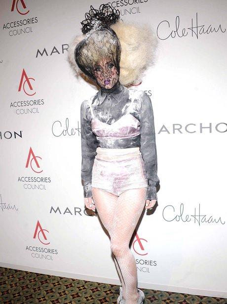 Lady Gaga at the 2009 ACE Awards.