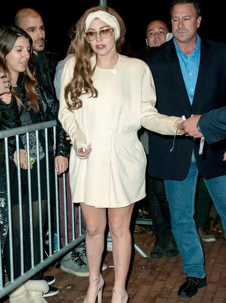 Lady Gaga In Amsterdam