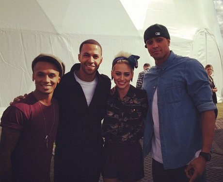 Marvin With Got To Dance Judges