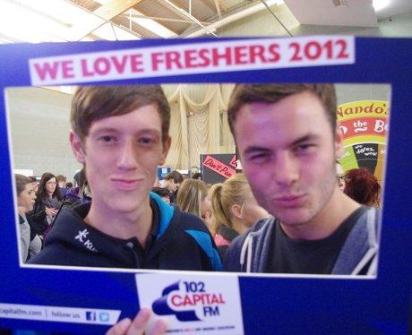 MMU Freshers Fair 2012!