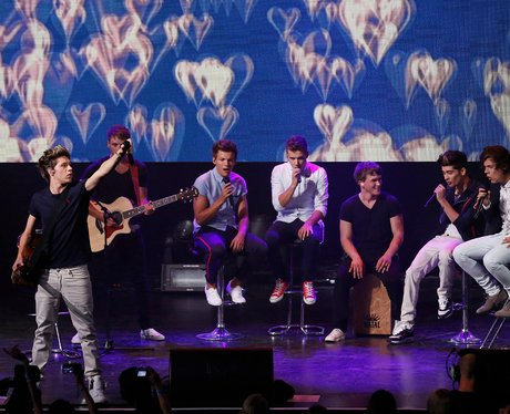 One Direction live at iTunes Festival 2012.