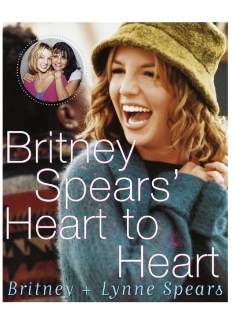Britney Spears 'Heart To Heart' book cover