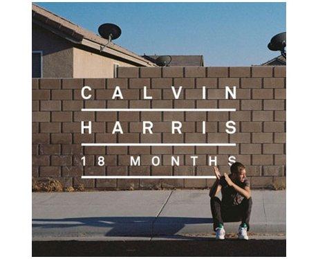 Calvin Harris '18 Months' single cover