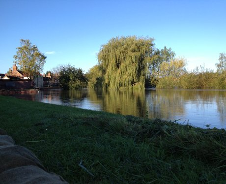 flooding in cawood