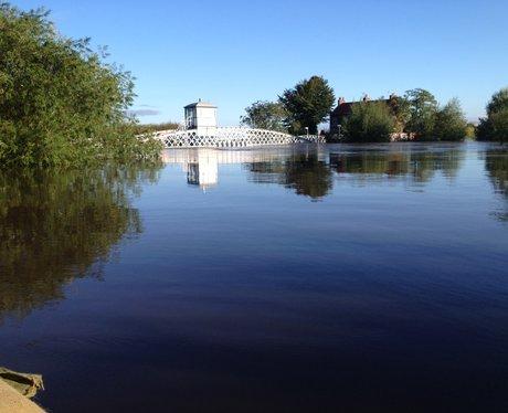 floods cawood