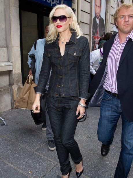 Gwen Stefani in Paris