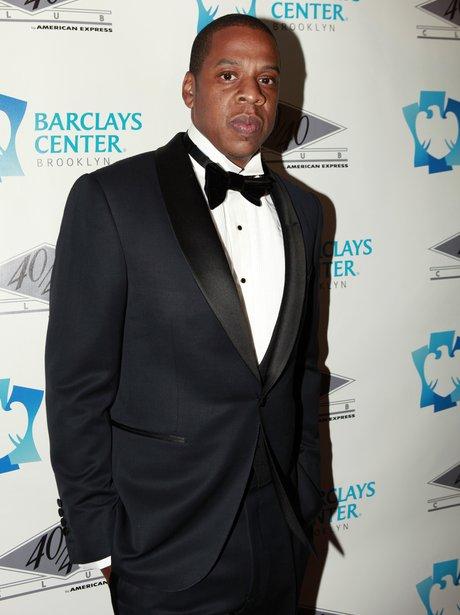 Jay-Z At Club Opening