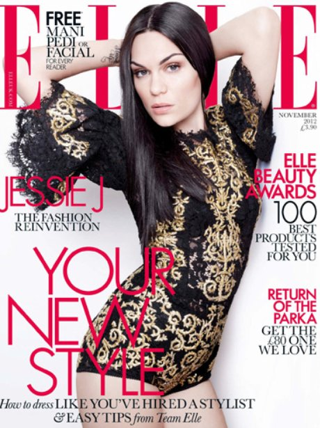 Jessie J covers ELLE Magazine