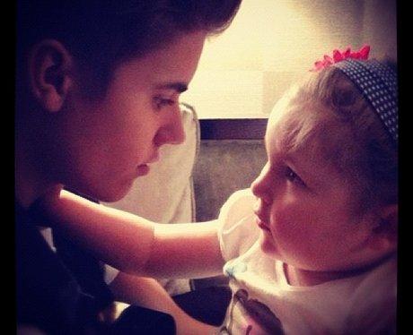 Justin Bieber with avalanna