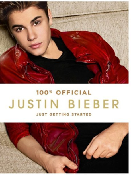 Justin Bieber 'Just Getting Started' book