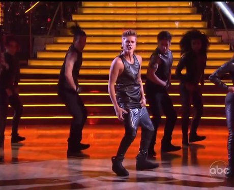 Justin Bieber Dancing With the Stars