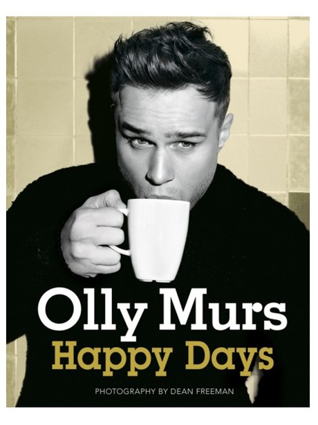 Olly Murs 'Happy Days' book