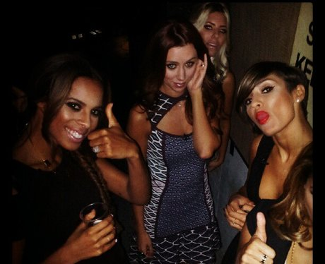 The Saturdays on a night out
