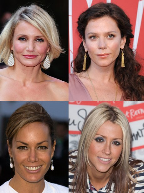 Anna Friel, Nicole Appleton, Cameron Diaz and Tara