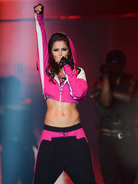 Cheryl Cole performs at her 'A Million Lights' tour