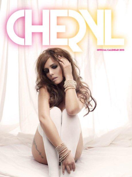 Cheryl Cole's 2013 calendar cover.