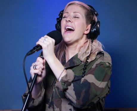Ellie Gouldings live session for capitalfm