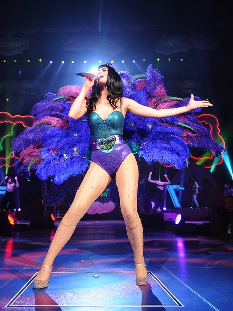 Katy Perry performs on her 'California Dream' tour