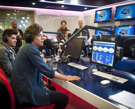 One Direction visit Capital FM.