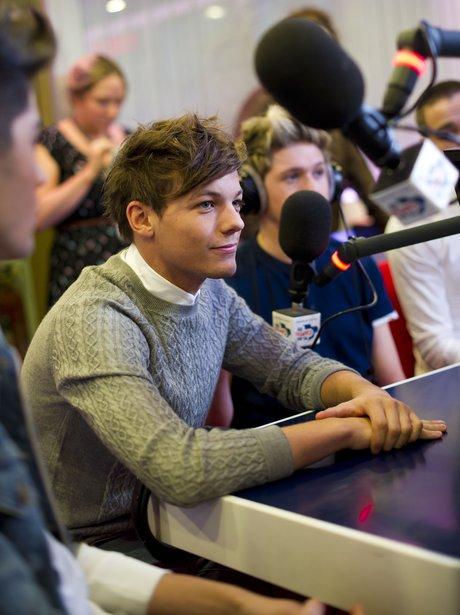 One Direction visit Capital FM.