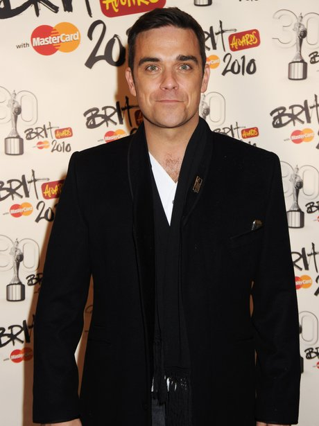 Robbie Williams BRIT Awards 2010