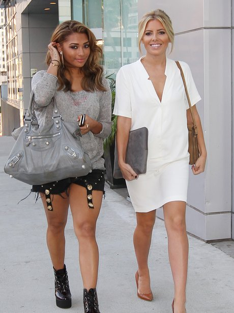 Vanessa and Mollie from The Saturdays in LA.