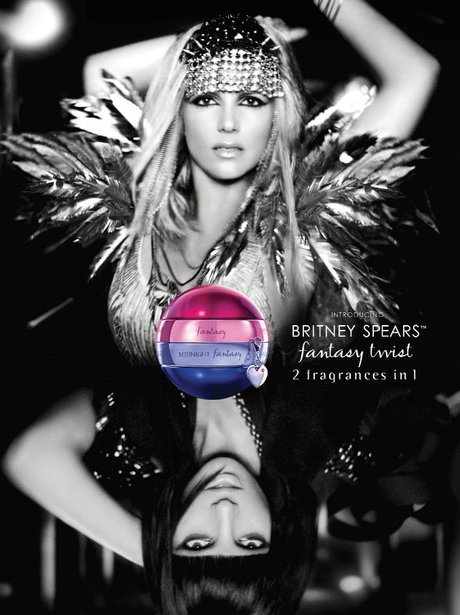 Britney Spears' new perfume advert.