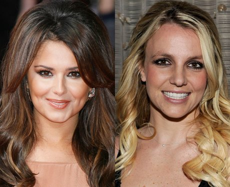 Cheryl Cole and Britney Spears.