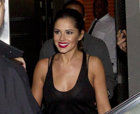 Cheryl Cole leaving leaving her afterparty.