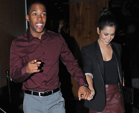 Cheryl Cole and Tre Holloway in London.